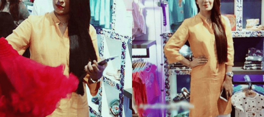 Aiza Khan Spotted At The Launch Of Andy Birds Store