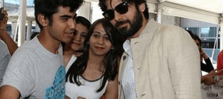 Fawad Khan Arrives In Madrid To Host IIFA Awards 2016