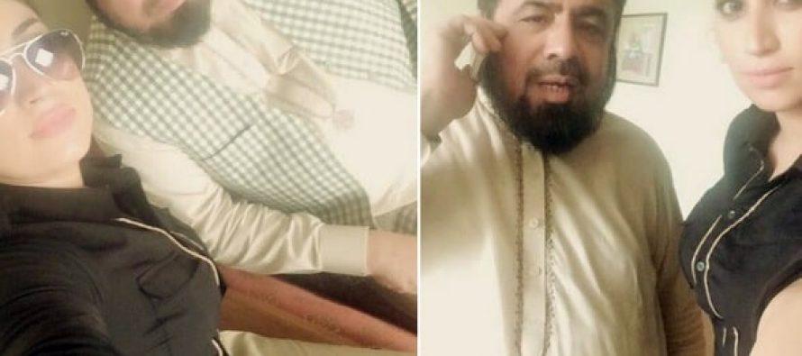 Qandeel Baloch Meets Mufti Abdul Qavi