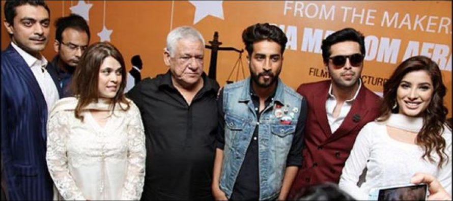 Om Puri Will Be In Pakistan For The Promotion of Nabeel Qureshi's Actor-in-Law