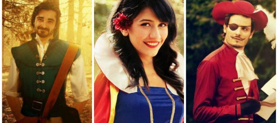 Pakistani Celebrities As Disney Characters