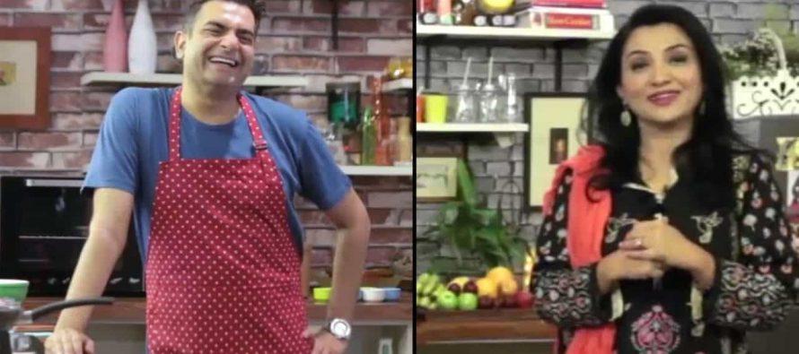 Nadia Afghan On Star Iftaar With Sarmad Khoosat