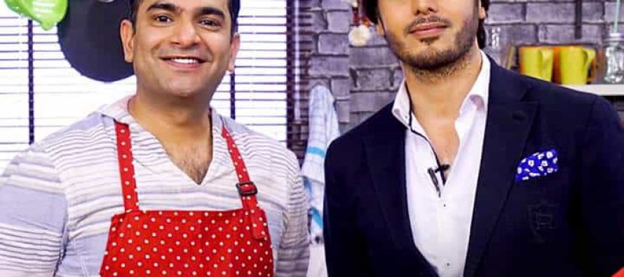 Ahsan Khan On Star Iftaar With Sarmad Khoosat