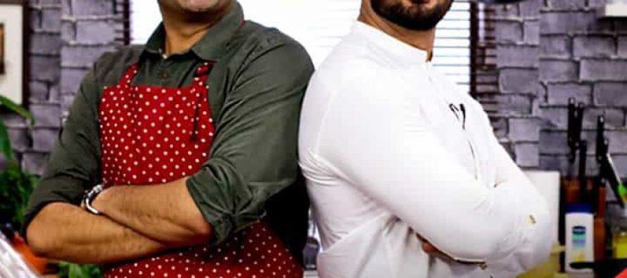 Umair Jaswal At Star Iftaar With Sarmad Khoosat