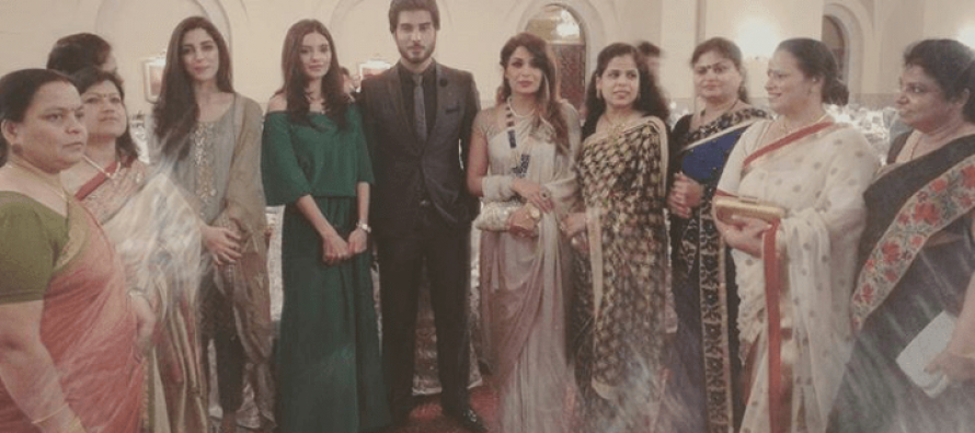 Celebrities Spotted At Indian High Commission Iftaar