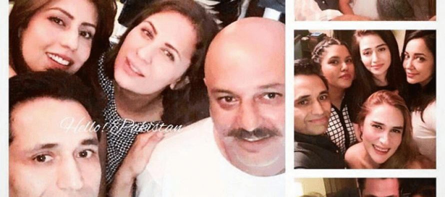 Celebrities Spotted At Asim Jofa's Party