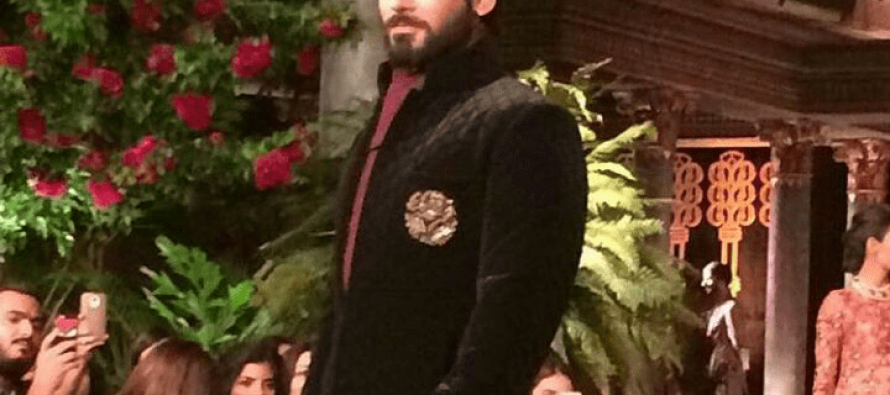 Fawad Khan Becomes Manish Malhotra's Showstopper