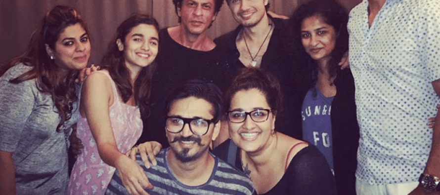 Ali Zafar Spotted With Shah Rukh Khan