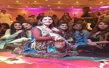 Celebrities at Amber Khan Daughters wedding