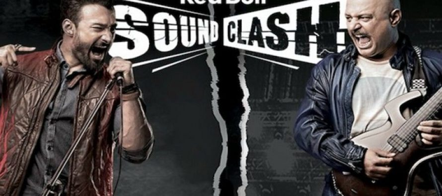 SoundClash between Umair Jaswal and Ali Azmat in Karachi on 27th August