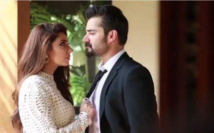 Mahira Khan & Hamza Ali Abbasi's Shoot – BTS Video & Pictures
