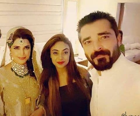 Hamza Ali Abbasi Sister Wedding 2