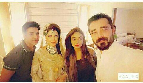 Hamza Ali Abbasi Sister Wedding 5