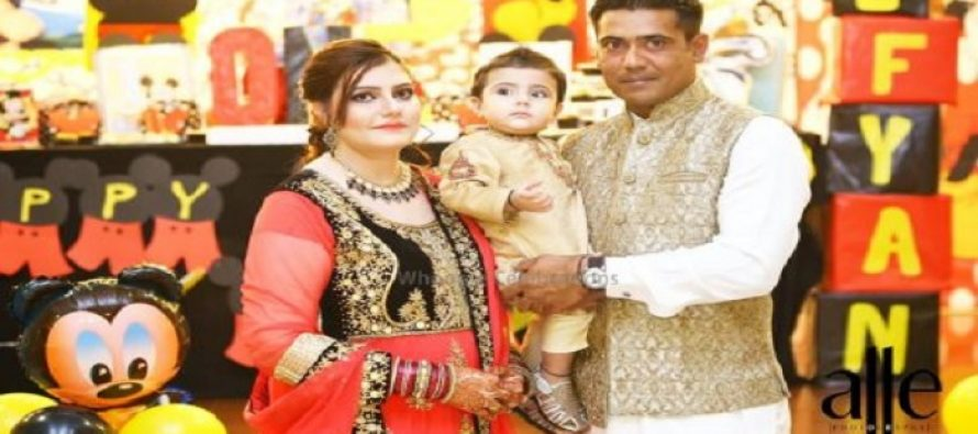Cricketer Muhammad Sami's Son's Sufyan Birthday pictures