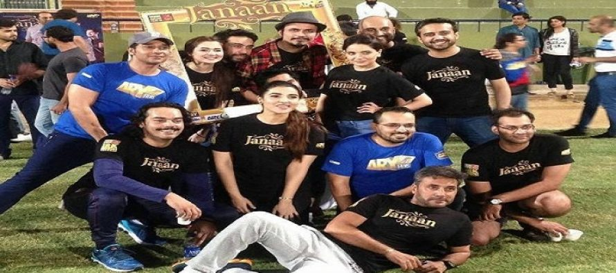 """""""JANAAN"""" Promotion leads to a Cricket Match"""