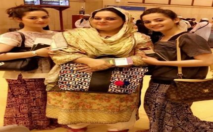 Minal and Aiman Khan in Thaliand with family