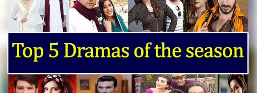 Top 5 Dramas Of This Season