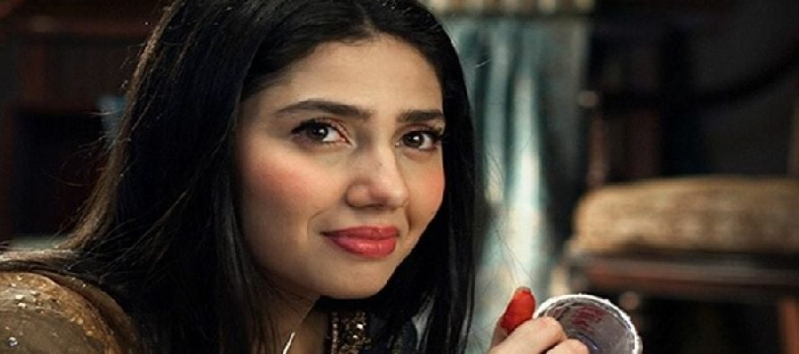 Why is Mahira Khan on the set of Actor in Law?