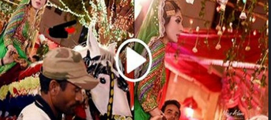 Sharmila Farooqui Rides a Horse on her Big Day-Video Released