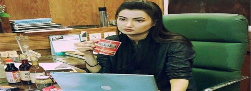 """A Fan Poisoned the Host """"Sana Faisal"""" of Channel Abb Takk"""