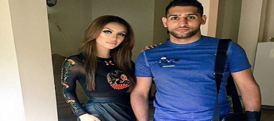 Boxer Amir Khan with his Wife Faryal Makhdoom!