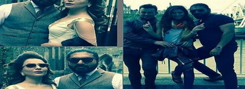 BTS Pictures of Shaan's ARTH-2