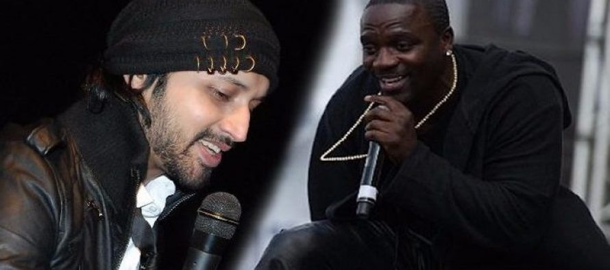 Atif Aslam and Akon will Sing a Song Together in TUMBIN 2
