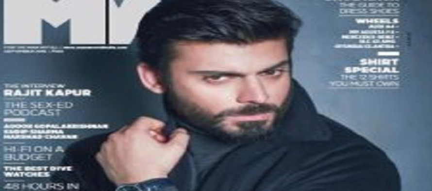 Fawad Khan kills the Cover of MW Magazine India