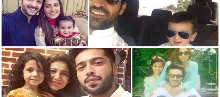 Pakistani Celebrities On The 1st Day Of Eid