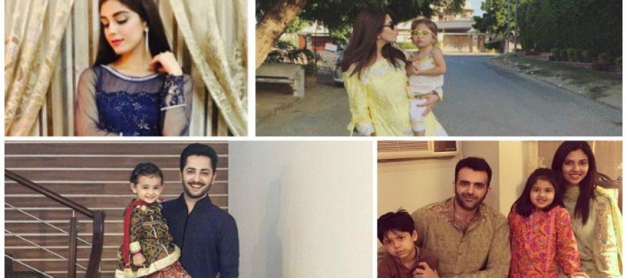 Compilation of Celebrities Pictures on Eid-ul-Azha 2016
