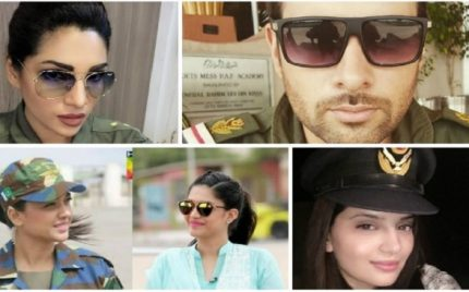 Celebrities Specially Dressed up for the Defence Day!