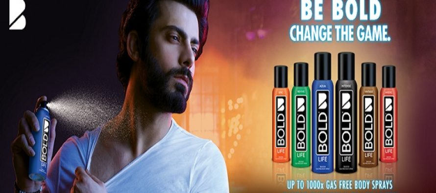 """Latest TVC of Fawad khan says """"Be Bold Change the Game"""""""