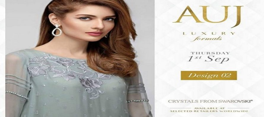 Latest Beautiful Photoshoot for AUJ Luxury Formal Collection 2016