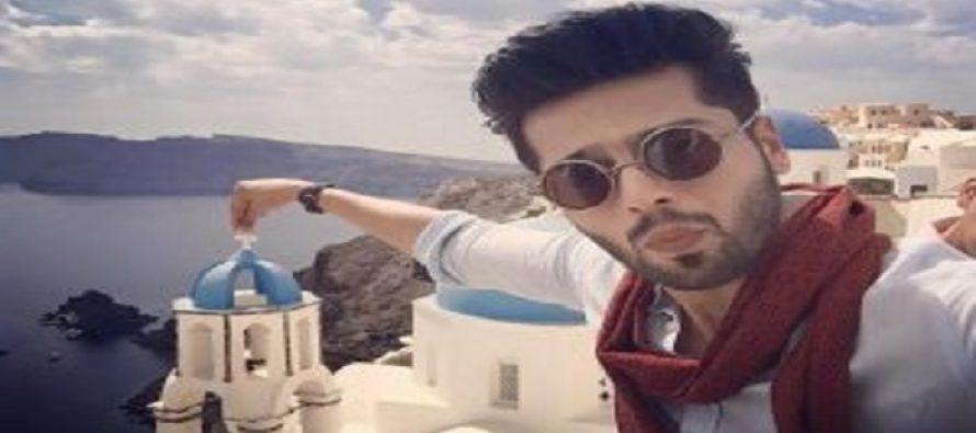 Fahad Mustafa Shot his New Qmobile TVC in Greece!
