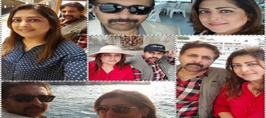 Family pictures of Fazila Qazi & Qaiser Nizamani