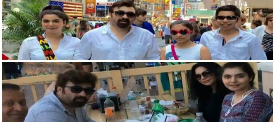 Family pictures of Nida Yasir from the USA Trip
