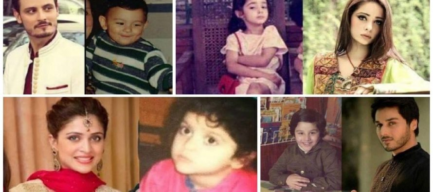 Enjoy the Childhood Pictures of Your Favorite Celebrities!