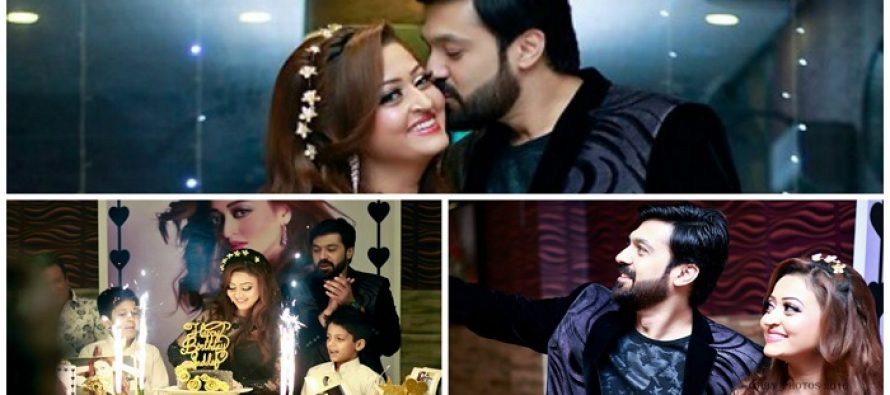 Umair Leghari Celebrates his wife Sadaf's Birthday!