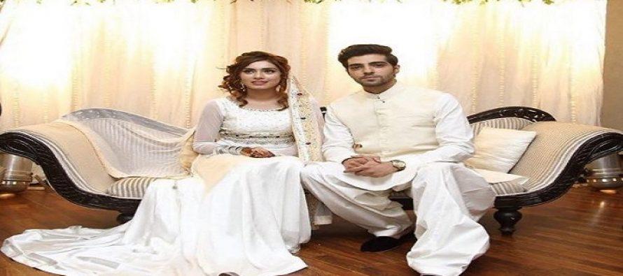 Actor Furqan Qureshi Tied Knots With Model Sabrina Naqvi