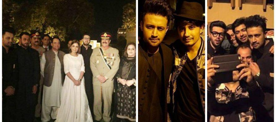 Pakistani Celebrities on Defence day !