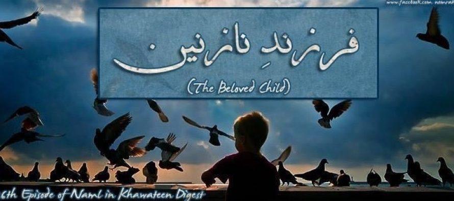 Naml Episode26 – Farzand-e-Nazneen – Mulzim Is The Beloved Child