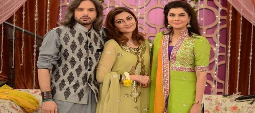 Good Morning Pakistan Invites Jaana Malick & Nauman Javaid