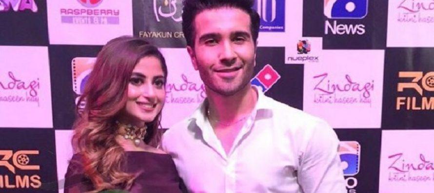 Zindagi Kitni Haseen Hai held its premiere in Karachi!