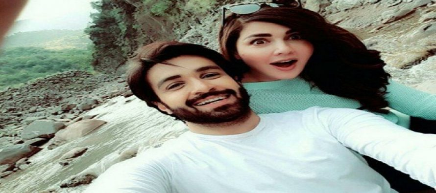 Pictures of Mahnoor Baloch & Azfar Rehman from Drama Khoobsorat