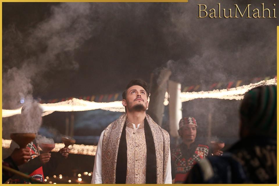 BTS Shots of the Film Balu Mahi