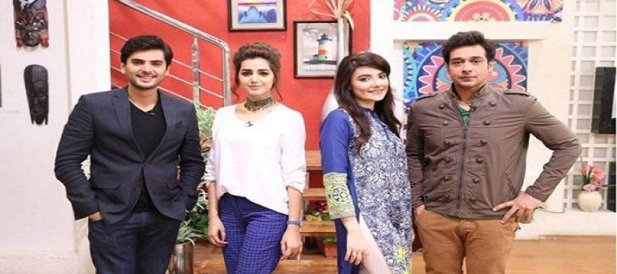 Anam Fyaaz and Zainab Jamil in the Morning Show Salam Zindagi!