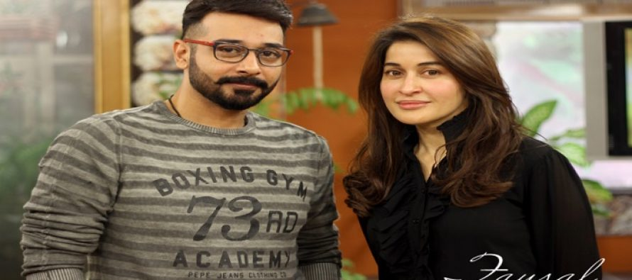 Shaista Lodhi will be Sharing Screen with Faisal Qureshi
