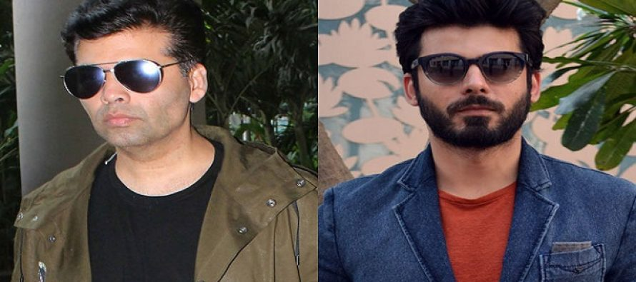 Karan Johar Chooses Fawad Khan over Ranbir Kapoor!