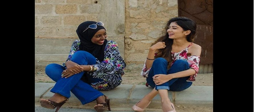 Zari Faisal Proves her Brand For all Kinds of Women; Dark, Skinny , Bulky and the Ones who Cover their Heads!