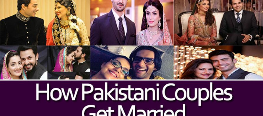 How Pakistani Celebrity Couples Met and Got Married